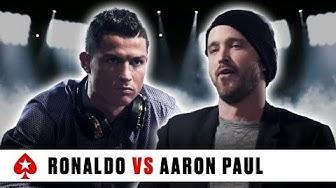 PokerStars Duel: Cristiano Ronaldo Vs. Aaron Paul