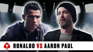 Video PokerStars Duel: Cristiano Ronaldo Vs. Aaron Paul download MP3, 3GP, MP4, WEBM, AVI, FLV Oktober 2017