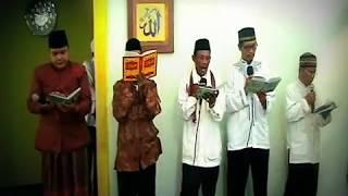 Rajaban 1434 H - Pembacaan Al-Barzanji oleh Ust. Hamzah Fansuri, S.Ag feat Ust. Budi Maulana, S.Hi