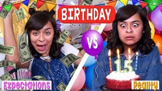 Expectation vs Reality - Birthday : Just Giselle // GEM Sisters