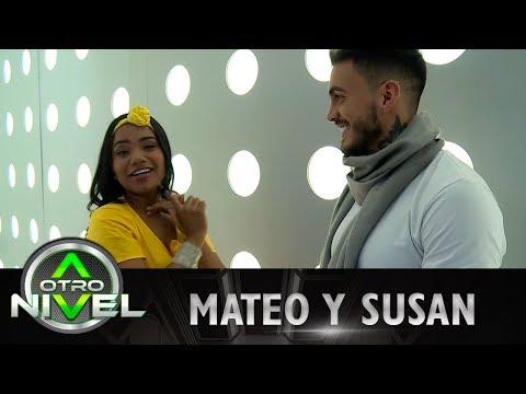 Mateo Carvajal consoló a Susan tras su salida de A Otro Nivel 2017