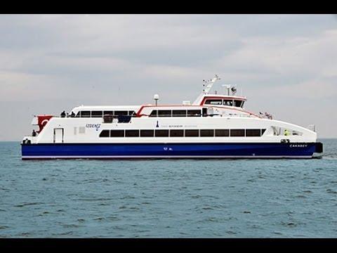 Carbon Catamaran Passenger Ferry 'ÇAKABEY' Delivery