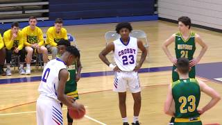 Waterbury Crosby High School vs Holy Cross High School - Jan 8, 2019