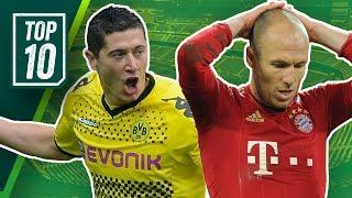 FC Bayern vs. Borussia Dortmund: Die Top 10 deutschen Klassiker aller Zeiten!