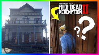 There Is A SECRET Character Hidden Inside Of The Valentine Hotel In Red Dead Redemption 2! (RDR2)
