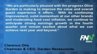 Darden Restaurants Beats Estimates, Offers Guidance