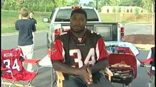 Atlanta Falcon Ovie Mughelli's Tailgating Tips