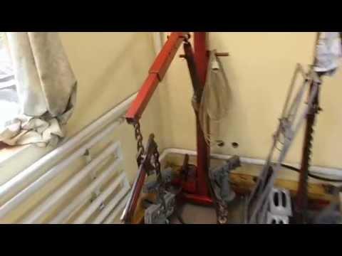 Мой гараж для кузовного ремонта  авто (видеообзор)