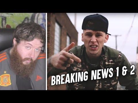 MGK - Breaking News 1 & 2 - REACTION! - YouTube