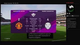 29 giornata Manchester united Vs real madrid