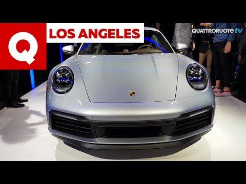La Porsche 911 992 vista dal vivo al Salone di Los Angeles