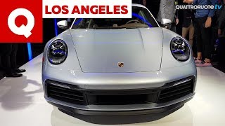 La Porsche 911 992 vista dal vivo al Salone di Los Angeles