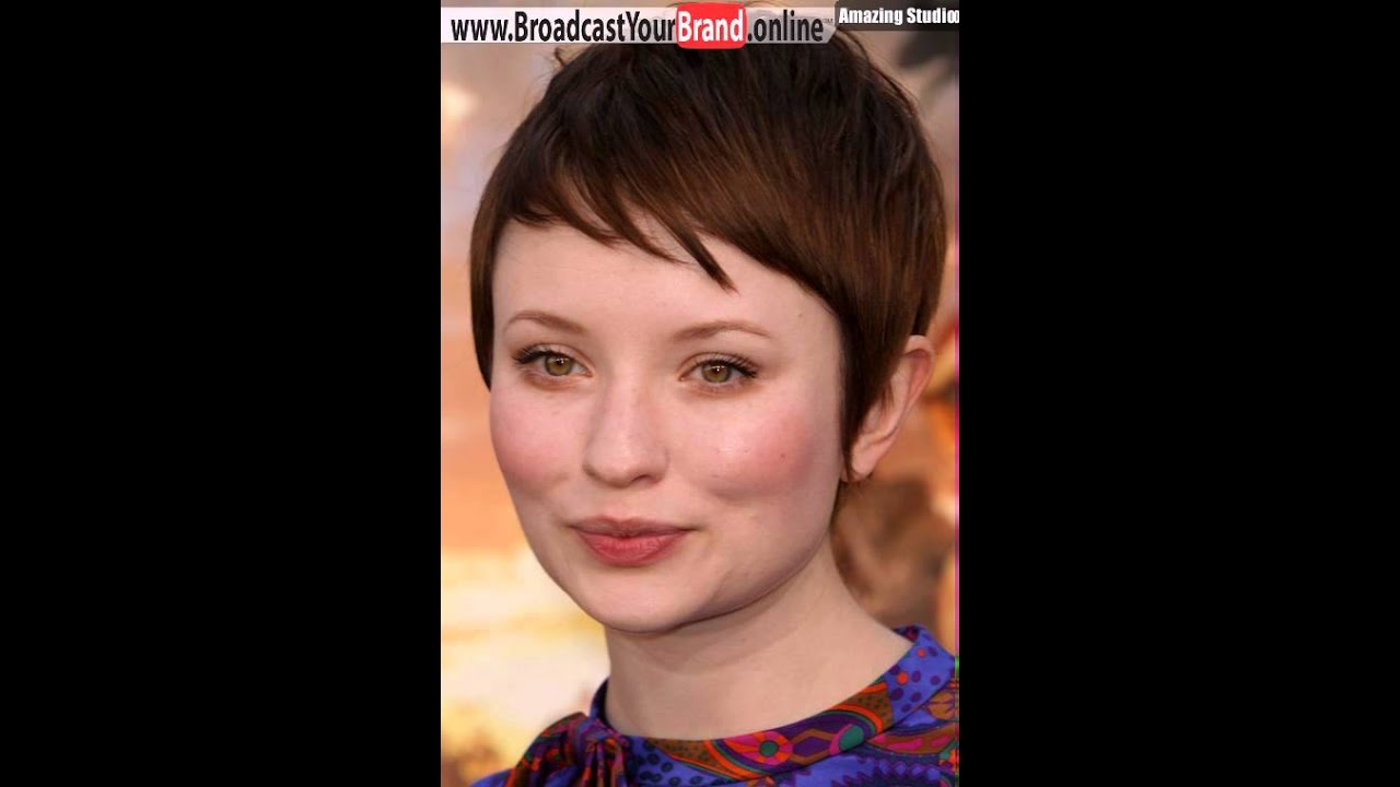 Pixie Haircuts For Fat Round Faces Youtube