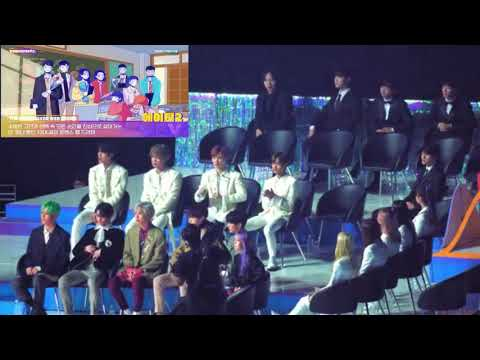 191116 Idols reaction to A-TEEN the Most Loved Web Series
