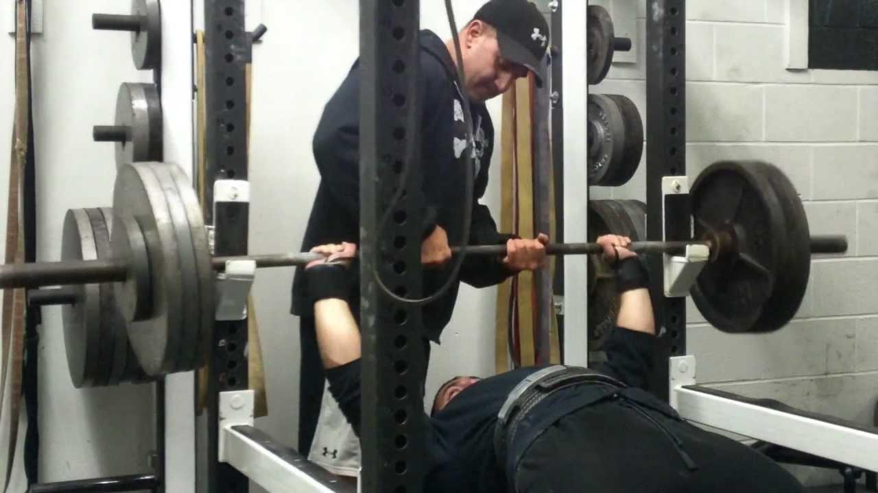 400 Lb Bench Press Club Part - 38: 335 Lb Bench Press, Rope N Chain Pushdowns