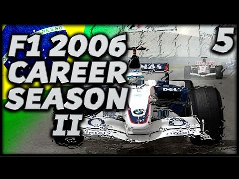 F1 2006 Career Mode Season 2 Finale: Brazilian Grand Prix
