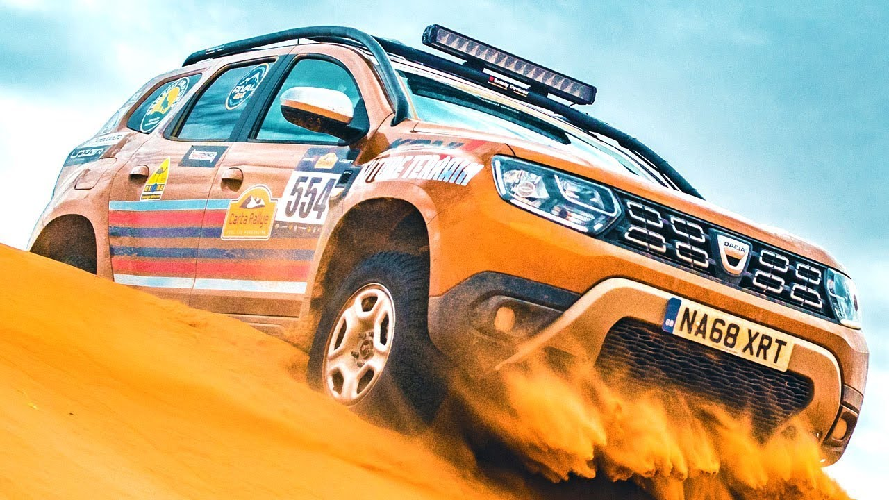DACIA DUSTER - ARMED FORCES CHARITY (EXTREME SAHARAN RALLY 2000km)