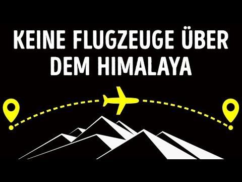 Warum Flugzeuge nicht über den Himalaya fliegen