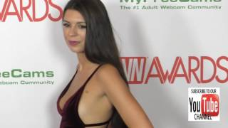 Olivia Lua at the 2017 AVN Awards Nomination Party at Avalon Nightclub in Hollywood