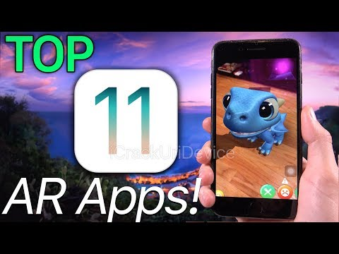 BEST 11 Top iOS 11 Apps, Augmented Reality, ARKit (AR Games)