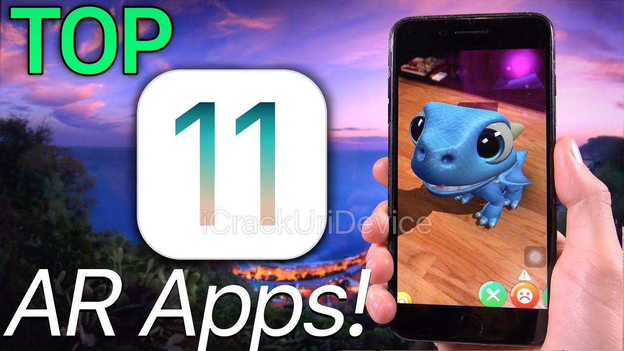 best 11 top ios 11 apps augmented reality arkit ar. Black Bedroom Furniture Sets. Home Design Ideas