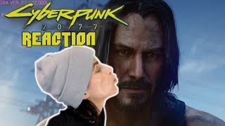Reaction to Cyberpunk 2077 E3 2019 Cinematic Trailer