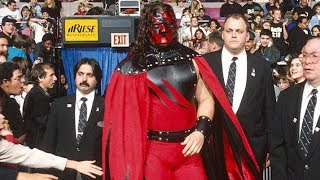 Kane Wearing a Cape in 1997 (AUDIO FOOTAGE)