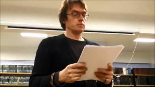 Дмитрий Воденников. Стихи из ничего. Лекция 1