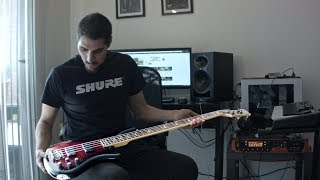 guitarist plays bass for the first time