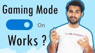 [HINDI] Do GAMING Mode Really Works ??
