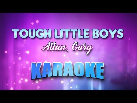 Tough Little Boys - Allan, Gary (Karaoke version with Lyrics)