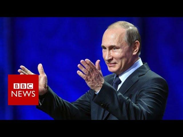 Vladimir Putin Syria Air Strikes Were An Act Of Aggression Bbc News