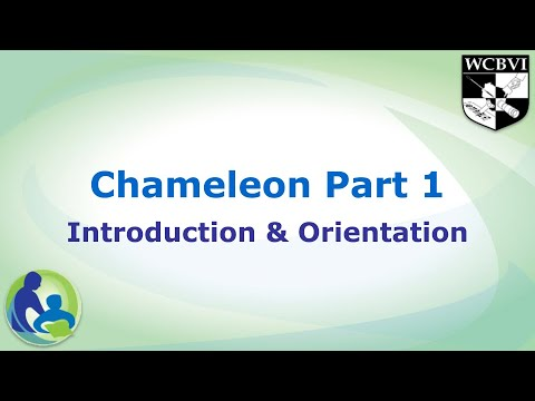 Download Chameleon Part 1: Introduction and Orientation