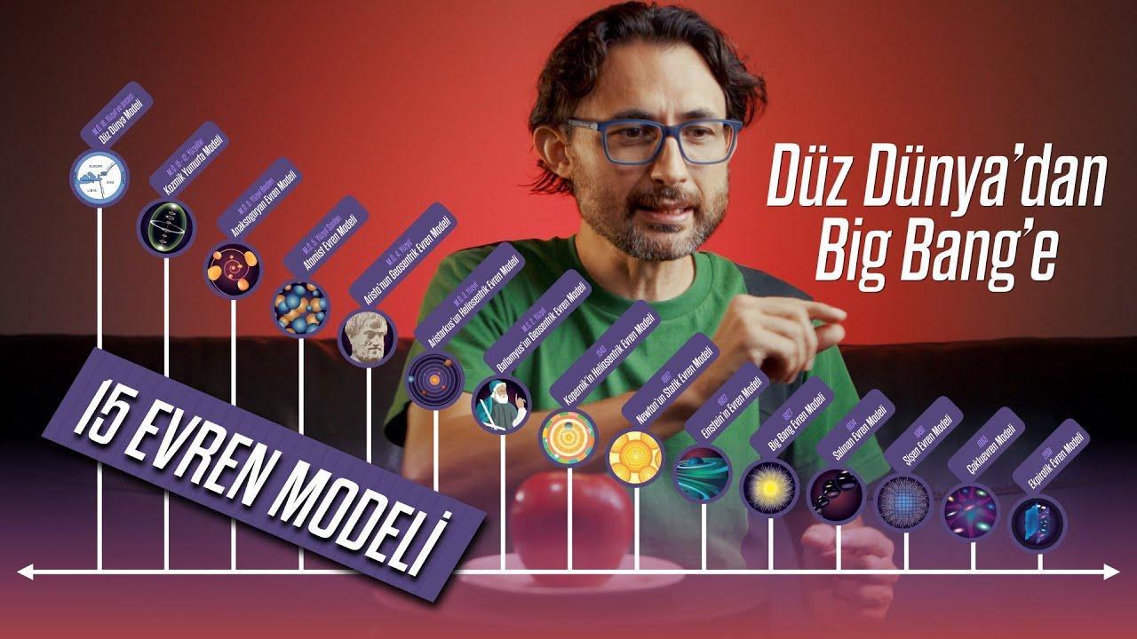 Düz Dünya'dan Big Bang'e 15 EVREN MODELİ