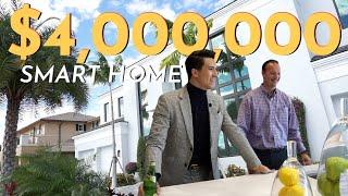 $4 MILLION SMART HOME MANSION tour in Lighthouse Point   Violi Vlogs #1   Armand Violi Real Estate