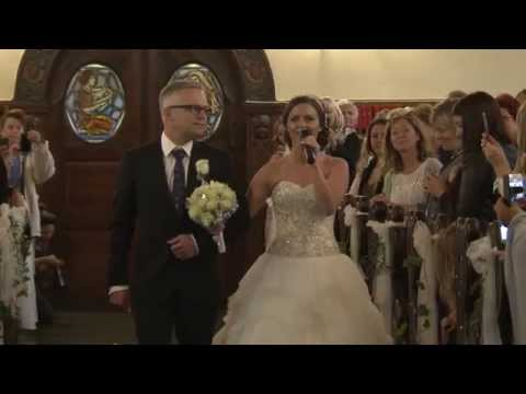 "Maria & Ronny Got Married, ""The Surprise"" - Ålesund Church - Norway (HD)"