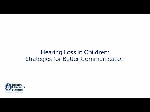 Hearing Loss in Children: Strategies for Better Communication | Boston Children