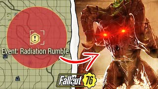 Fallout 76 | What Happens if You Nuke the Radiation Rumble Event? (Fallout 76 Secrets)