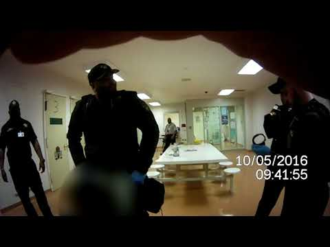 Video shows Cuyahoga County jail guard using excessive force on naked, mentally ill inmate