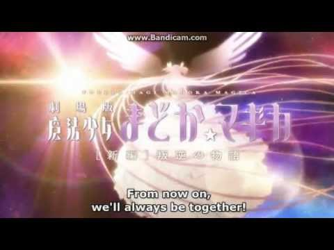 Trailer do filme Mahou Shoujo Madoka Magika Movie 2