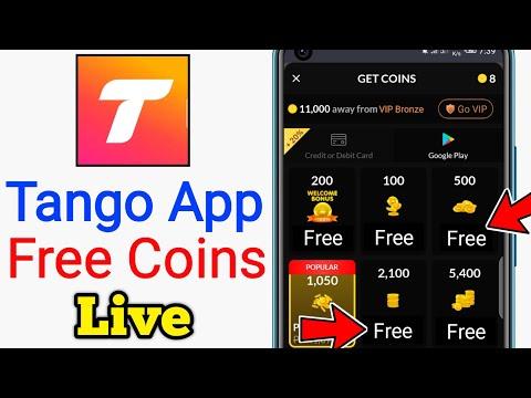 Tango App Free Coins - Tango Me Free Me Coins Kaise Milta Hai - Free tango coins & diamond