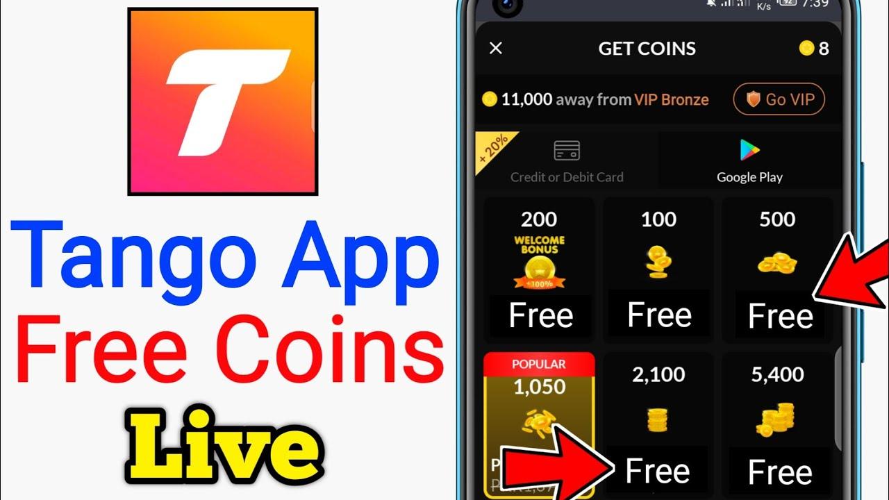 Download Tango App Free Coins - Tango Me Free Me Coins Kaise Milta Hai - Free tango coins & diamond