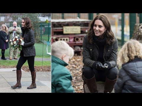 Kate Middleton news: Kate will visit the Forest School and Wildlife Garden in London