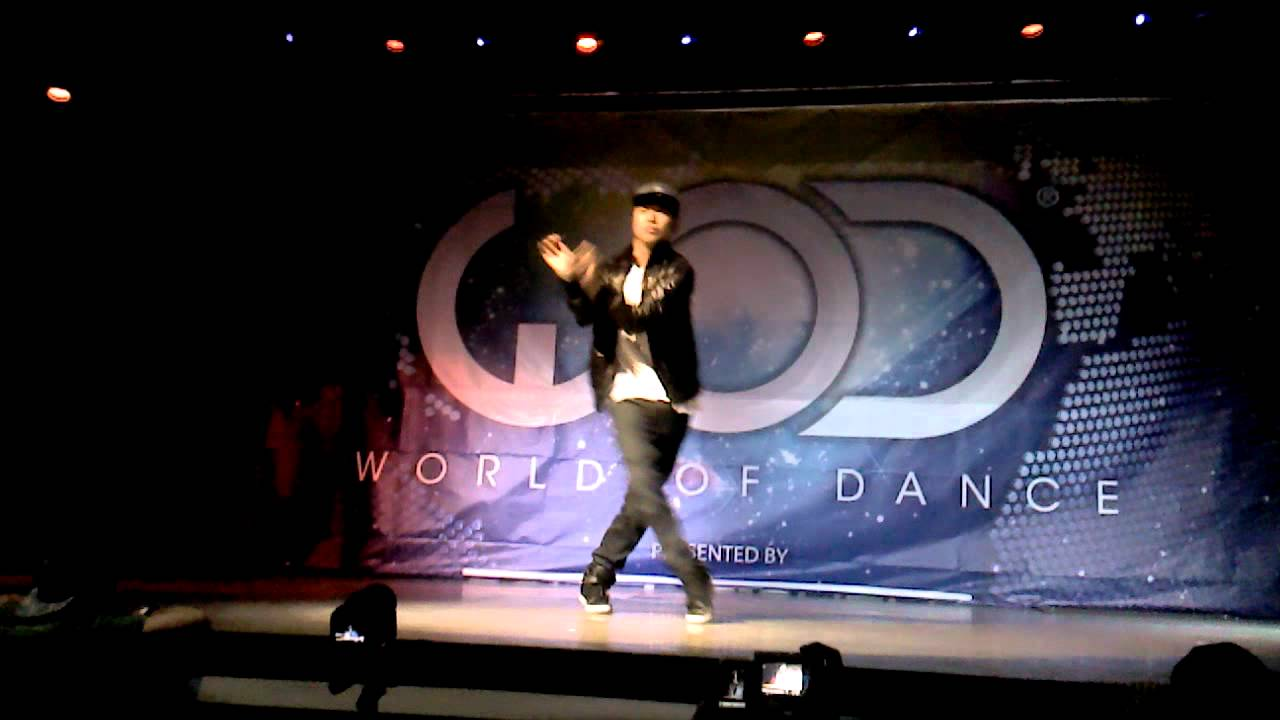 Mike Song Dancing At World Of Dance Tour Dallas TX