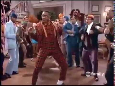 Funny Steve Urkel dance scene