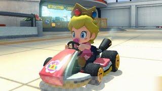 Mario Kart 8 Baby Peach Gameplay HD