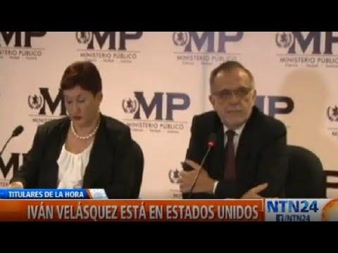 Guatemala prohíbe el ingreso al país del comisionado colombiano Iván Velásquez