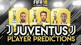 Fifa 18 | juventus player rating predictions! | w/higuain,buffon and chiellini!
