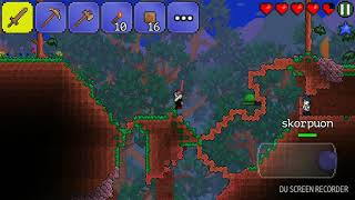 Играем в Terraria со Скорпи