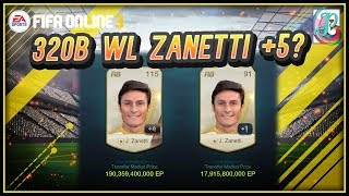 ~320B WL Zanetti?~ World Legend Mega Upgrading 2019 - FIFA ONLINE 3